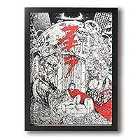 アキラ Akira アートパネル ポスター キャンバス絵画 インテリアアート 壁掛け 絵画壁飾り 木枠付きの完成品 絵画モダン インテリアやお店に 新築お祝い 贈り物