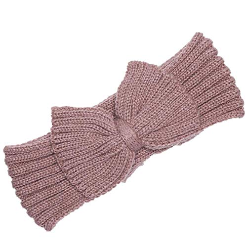 Turbantes Headband Diademas para Mujer Turbantes Invierno Cálido Calentador De Orejas Headwrap Navidad Niñas Ganchillo D