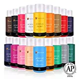 Acrylic Paint Set by Color Technik, Artist Quality, New Colors,...