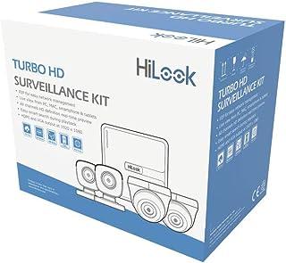 HILOOK Kit CCTV 720p TURBOHD/DVR 4 Canales / 2 Cámaras Bala