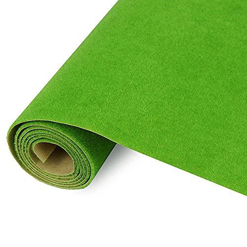 0.4mX1m Grasmat Model Groene Kunstmatige Gazons Turf Tapijten voor Architectonisch Model Landschap Trein Layout(F)