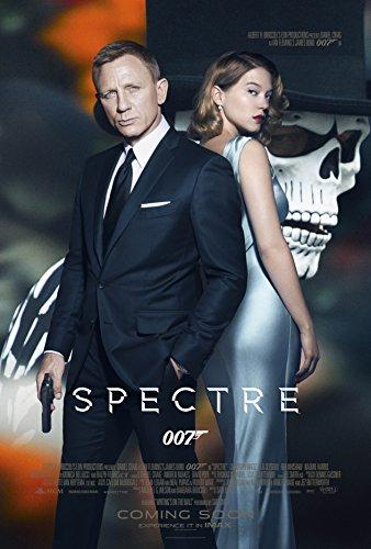 "WMG Spectre - Movie Poster (24"" x 36"") Glossy Finish (Thick, 8mil): Daniel Craig, Monica Belluci, Lea Seydoux"