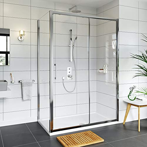 Mode Hardy 8mm Easy Clean Shower Enclosure and Stone Shower Tray 1000 x 800