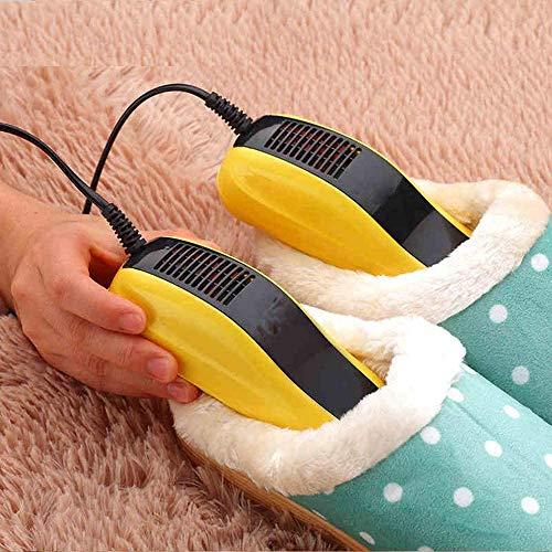 Hngyanp Zapato Bota Secadora, El ozono Antimoho Calientes Secadora, Zapatos de Secado Calentador Secador de Botas de secador de Zapatos Zapatos cálido eléctrico Calzado Secadora portátil, ibuprofeno