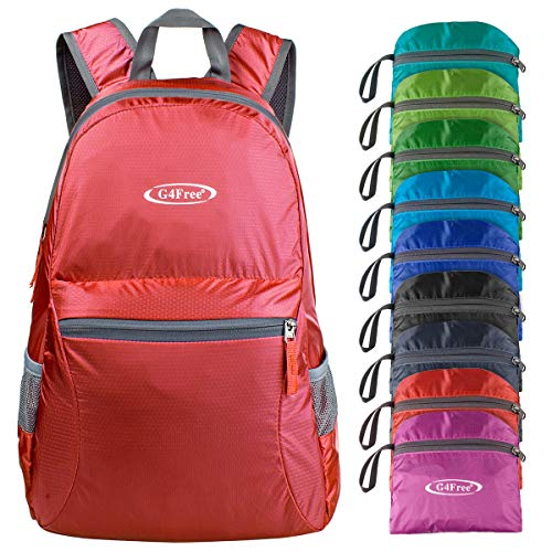 G4Free 20L Ultra Lightweight Packable Backpack Travel Hiking Daypack Foldable