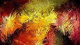Wdsjxd Pintura por números Home Painting Set Abstracto Luz Lienzo Pintura al óleo Set Principiante con Pincel Home Dector Regalo Sin Marco 40X50cm