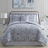 Amrapur Overseas 8-Piece Olivia Printed Reversible Bed in A Bag, Queen, Mutli-Color