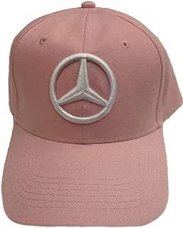 Mercedes Benz Baseball Cap Hat Pink. 3D embroidered. Adjustable. New!