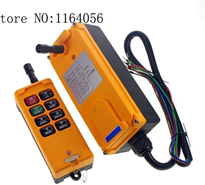 HS-8 AC DC12V 8 Channels Control Hoist Crane Radio Remote Control Sysem Industrial Remote Control
