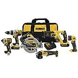 DEWALT 20V MAX Cordless Drill Combo Kit, 6-Tool (DCK695P2)