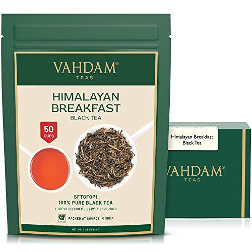 Imperial Black Tea Leaves from Himalayas for Breakfast, 3.53 oz Black Tea - Robust, Aromatic & Flavoury, Black Tea Loose Leaf Sourced Direct from High Elevation , Kombucha Tea, Loose Leaf Tea