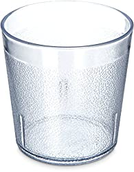 in budget affordable Carlyle 5529-8107BPA Free Plastic Stackable Cup, 9 oz, Clear (6 pcs / pack)
