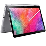 2021 Samsung Chromebook Plus V2 12.2 Inch FHD 1200P Touchscreen 2-in-1 Laptop, Intel Core m3-7Y30, 4GB RAM, 64GB eMMC, WiFi, Webcam, Chrome OS + NexiGo 32GB MicroSD Card Bundle, Pen Included