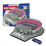 Georgie Porgy 69pcs Nou Camp 3D Estadio de Fútbol Puzzles Juguetes de Construcción Conjuntos