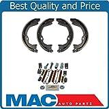 Mac Auto Parts Fits for 07-17 Jeep Wrangler New Emergency Parking Brake Shoe Set Spring Kit