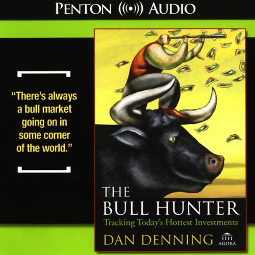 The Bull Hunter audiobook cover art