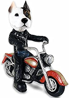 Pit Bull Terrier Motorcycle Doogie Collectable Figurine