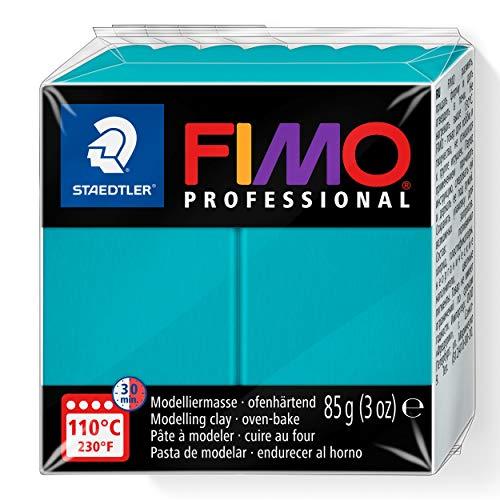 Staedtler Fimo Professional Individual Standard Blocks 85g, Turquoise, 85 g
