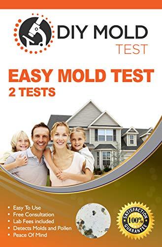 DIY Mold Test, Mold Test Kit for Home (2 tests). Lab...