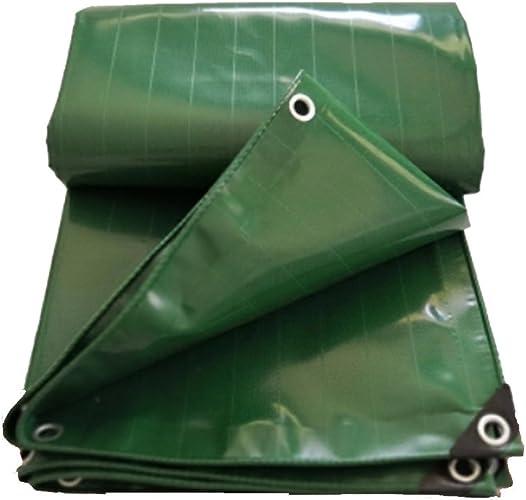WOAINI Bache extérieure de Tente de Tapis de Sol de Tapis de Plage extérieur, bache compacte de Preuve de Sable imperméable à l'eau, Toile de Camping légère et portative (Taille   4  6m)
