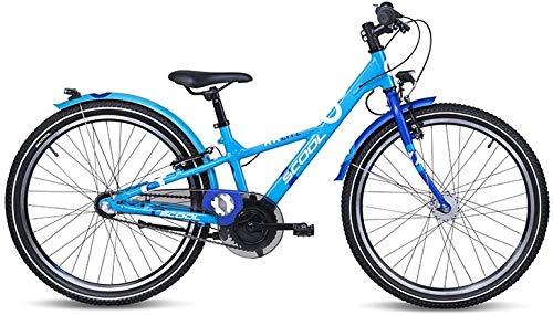 S\'Cool XXlite Alloy 24R 3S Kinder Fahrrad 2021 (31cm, Blau)