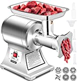 Best Sausage Stuffers - Happybuy Electric Meat Grinder 750W 375Lbs/hour Commercial Sausage Review
