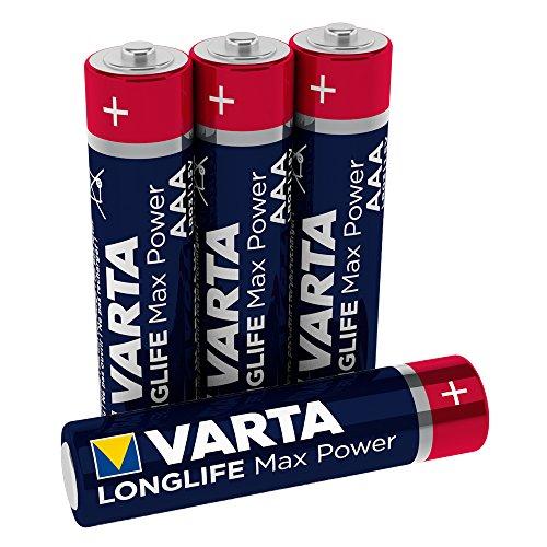 Pila Varta Longlife Max Power AAA Micro LR03 (paquete de 4 u