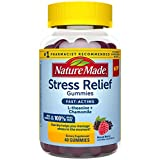 100% DRUG FREE, FAST-ACTING STRESS RELIEF GUMMIES: Stress can hit at any time. Each serving provides L-theanine to help you quickly manage stress and includes Chamomile. L-THEANINE HELPS YOU MANAGE STRESS: L-theanine is a naturally occurring amino ac...