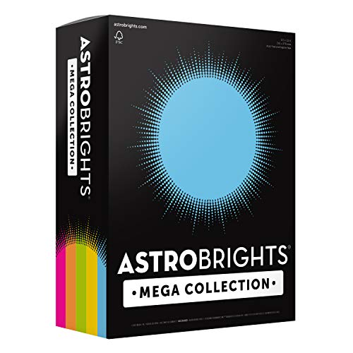 Astrobrights Mega Collection, Colored Paper,