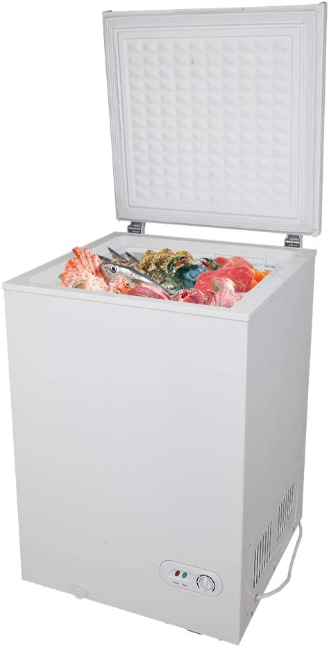 Red Pig Chest Freezer 3.5CU.FT Removable Wholesale with Regular discount Sto 100L