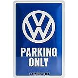 Nostalgic Art Parking Only-VW Bus Geschenk-Idee Blechschild