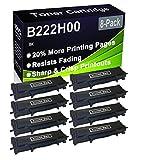 Paquete de 8 cartuchos de impresora láser B2236DW, MB2236ADW, MB2236ADWE (alta capacidad) de repuesto para Lexmark B222H00