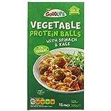 GOODLIFE Bolas de Proteína Vegetal | Espinacas y col rizada 300g | congelado (Pack de 1)