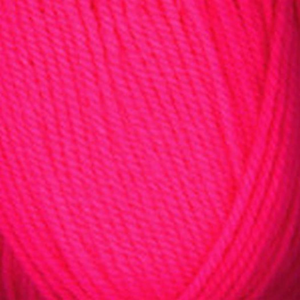 Plymouth (5-Pack) Encore Worsted Yarn Neon Pink 0478-5P