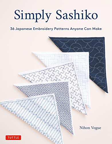 Cheapest Prices! Simply Sashiko: 36 Japanese Embroidery Patterns Anyone Can Make