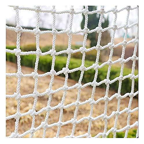Red De Carga Protectora De Protección Blanca Protectora Para Balcón Banister Stair Riel, Red De Seguridad Interior Para Niños Mascotas Jardín, Malla De Carga Net red gatos ( Size : 3x10M(10X32FT) )