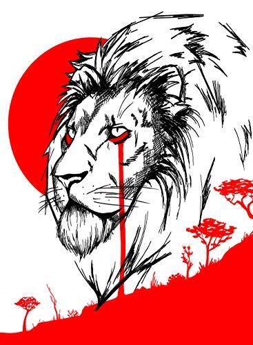 King of savannah - Poster A4/A3/A2/A1