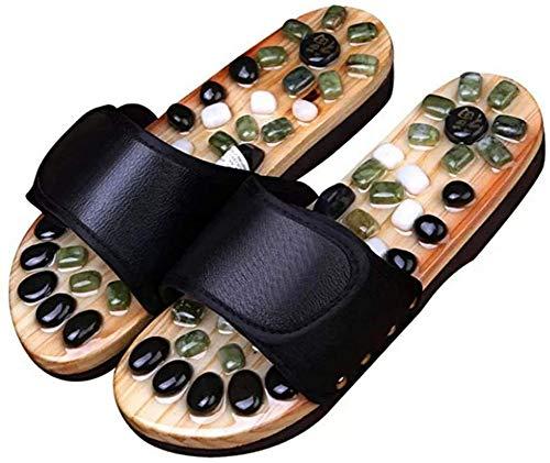 Zapatillas para parejas, Sandalias casuales de verano para el hogar, Zapatillas para hombres y mujeres, Cómodas y duraderas, Antideslizantes, Impermeables, Transpirables, Masaje de piedras naturales,
