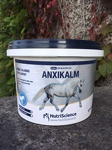 PlaqueOff NutriScience   AnxiKalm Compete Powder 1.2 kg   For Horses   Calming Supplement