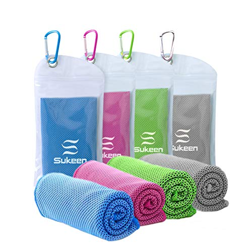 Our #4 Pick is the Sukeen Microfiber Cooling Towel
