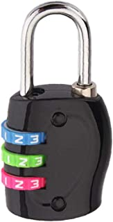 TSA Approved Luggage Lock Heavy Duty Combination Cable Suitcase And Backpack