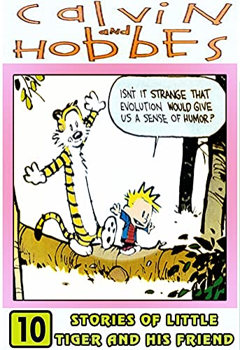 Stories Cal-vin-Hobbes-Tiger: Set 10 - Funny Comic Strip For Kids Adventures Of Ca-lvin Cartoon And Hob-bes (English Edition)