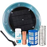 XtremepowerUS 90120-1 Purifier Pool Solar Ionizer System Effective up to 32,000 Gallons Reduces Chlorine Algae, Blue