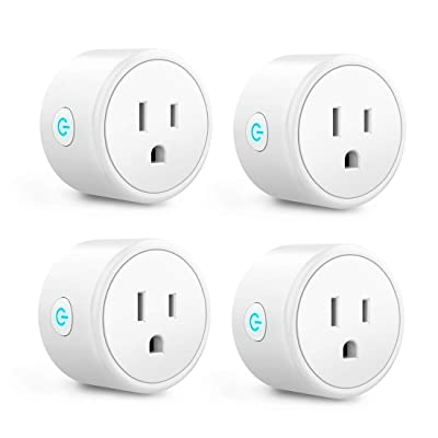 Smart Plug - Aoycocr Mini WIFI Switch Works With Alexa, Google Home & IFTTT