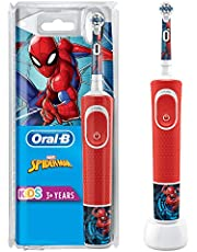 Oral-B D100 Çocuk Şarjlı Fırça Spiderman