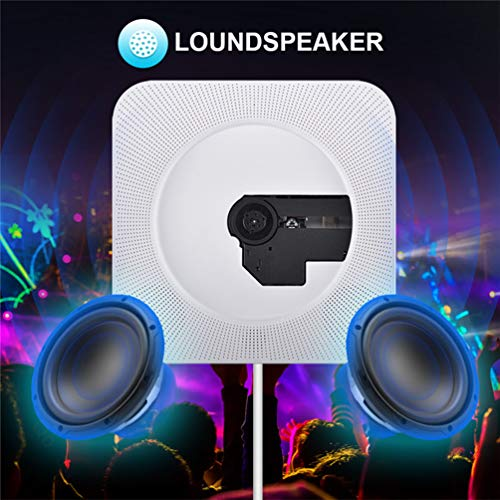 Draagbare afstandsbediening Bluetooth kan aan de wand gemonteerd, radio-cd-speler, Walkman audio-apparatuur ingebouwd in HiFi-luidsprekers