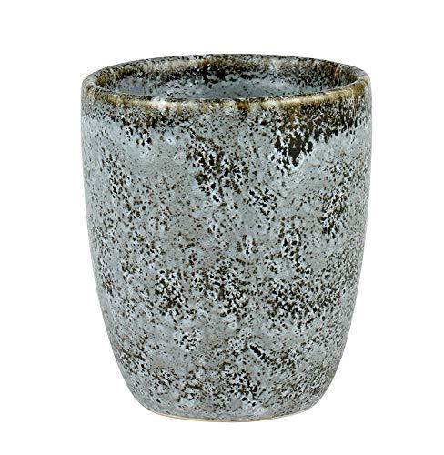 BITZ - Espresso Cup/Espressobecher - Steingut - grau - 0,1l