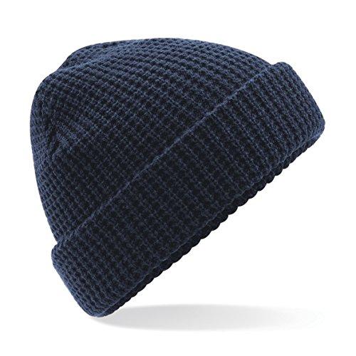 Beechfield - Bonnet tricoté - Adulte Unisexe (Taille Unique) (Bleu Marine)