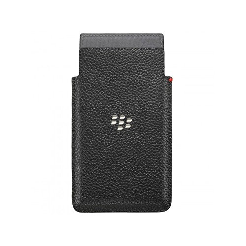 BlackBerry Leder Pocket Hülle für Rio schwarz
