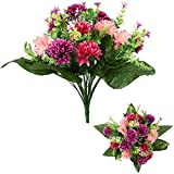 SPIKEY - Fiori artificiali, 41 cm, crisantemi misti Hot Pink & Wine